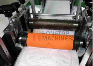 Disposable N95 face mask blank making machine