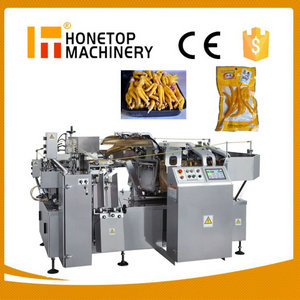 Premade Pouch Fill Seal Vacuum Packing Machinery High Speed