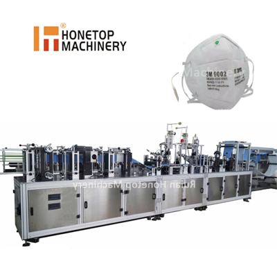 Disposable N95 face shield forming machine