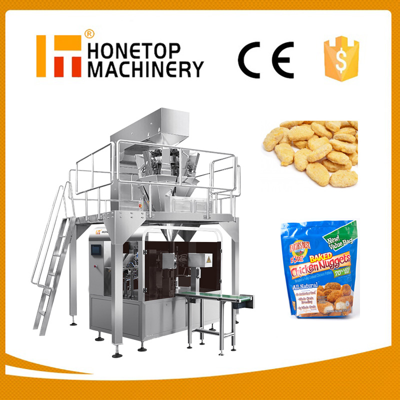 Premade Bag Cashew Nut Packaging Machine