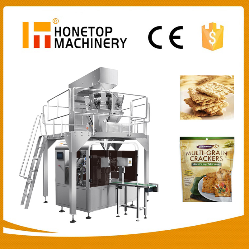 Zipper Bag chips snack packing machine